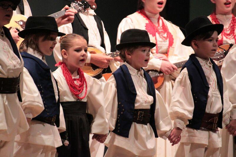 singing a croatian song