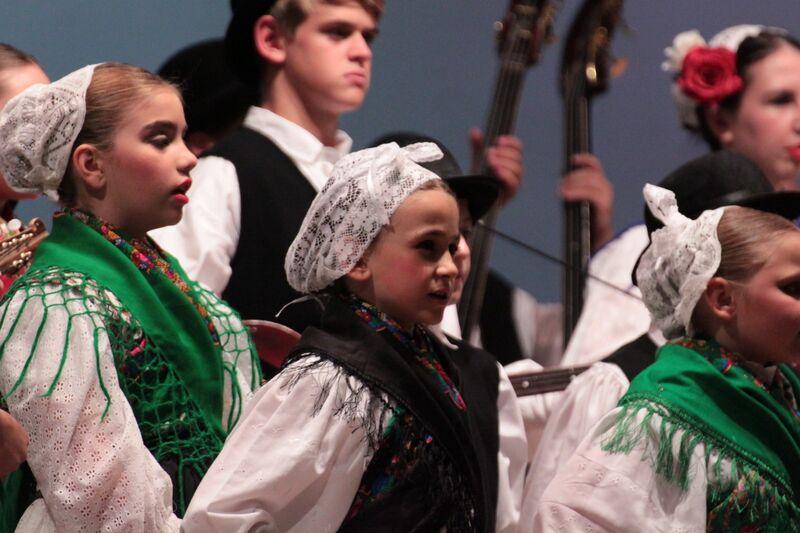 The Kolo croatian dance
