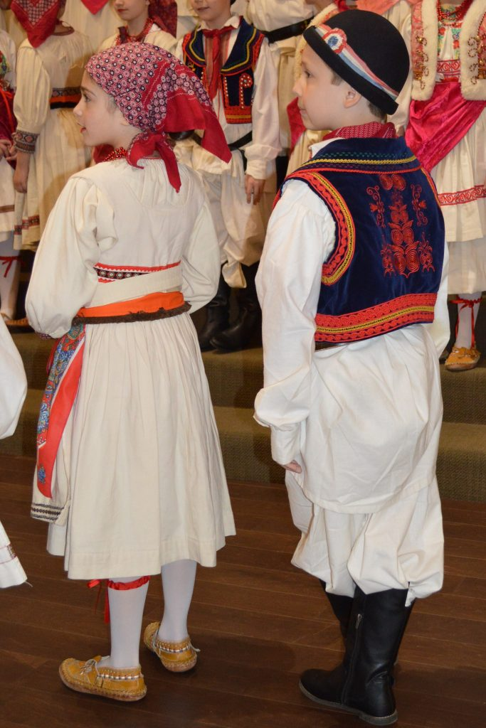Traditional Croatian Dancer