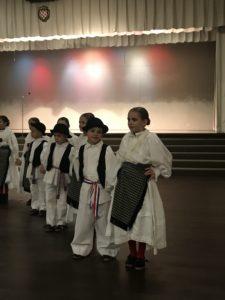 Croatian Dancers in traditional costume