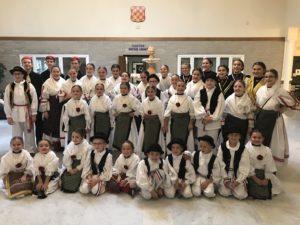Croatian Dance team